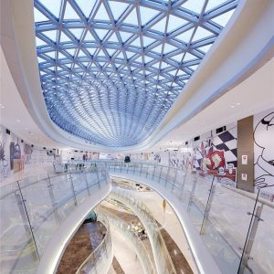 سقف شیشه ای (اسکای لایت) ۳